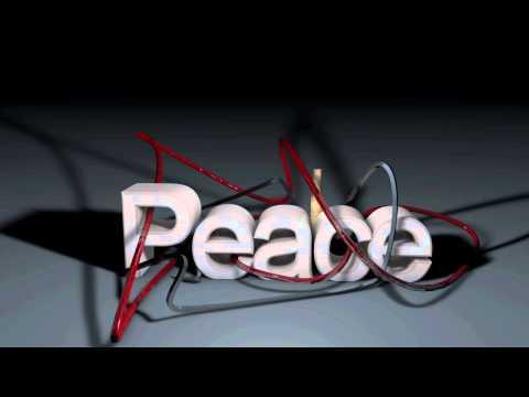 cinema 4d text peace sweep nurbs effects