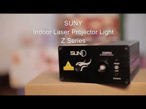 OFFICIAL PRODUCT VIDEO SUNY LASER LED LIGHT Z SERIES - INDOOR PROJECTOR