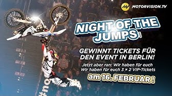 NIGHT OF THE JUMPS in Berlin: Gewinnspiel und Live-Stream