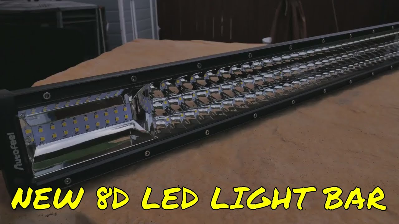 New 8d tri row led light bar by autofeel youtube new 8d tri row led light bar by autofeel asfbconference2016 Images