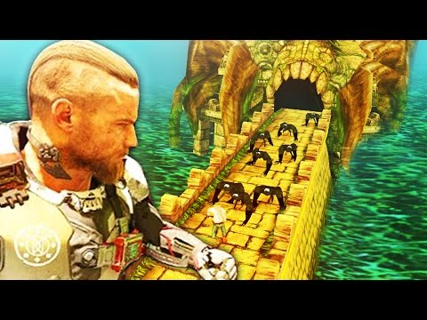 TEMPLE RUN sur BLACK OPS 3 ! (HARD)