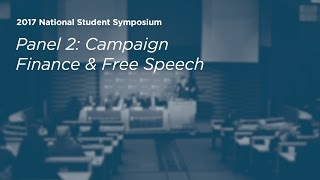 Campaign Finance & Free Speech