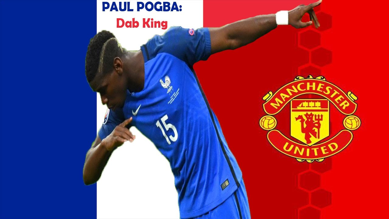 paul pogba manchester united highlights hd 2016 2017 dab king 2 youtube. Black Bedroom Furniture Sets. Home Design Ideas