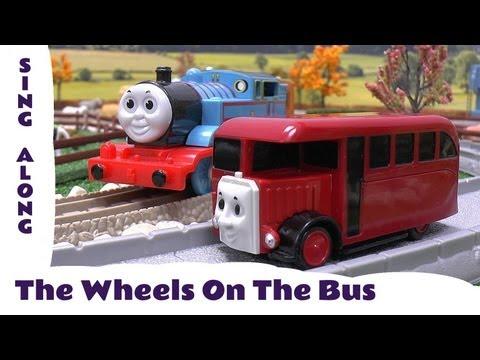 The Wheels On The Bus Old MacDonald Had A Farm Thomas & Friends Sing Along Nursery Rhyme Kids Toy
