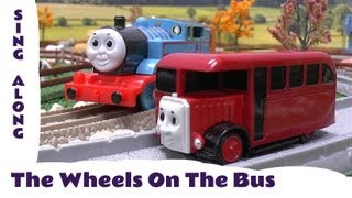 The Wheels On The Bus Old MacDonald Had A Farm Thomas & Friends Sing Along Nursery Rhyme Kids Toy