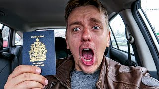 Unboxing of Canadian Passport!