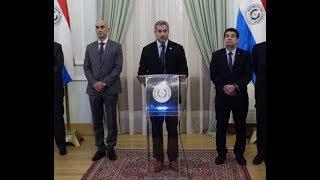 Mario Abdo Benítez - Conferencia de prensa