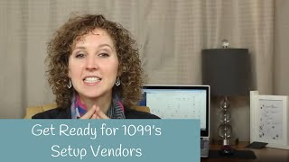 How to setup Vendors to Receive 1099's in QuickBooks