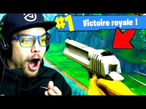 TOP 1 / NOUVELLE ARME  sur Fortnite: Battle Royale (Saison 3) !!