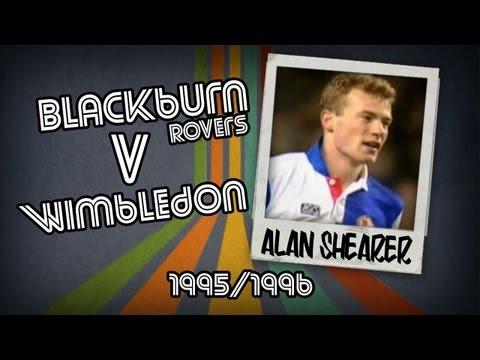 ALAN SHEARER - Blackburn V Wimbledon, 95/96 | Retro Goal