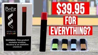 $39.95 FOR EVERYTHING? The Apollo Brez Deluxe Pod Kit! ✌️🚭