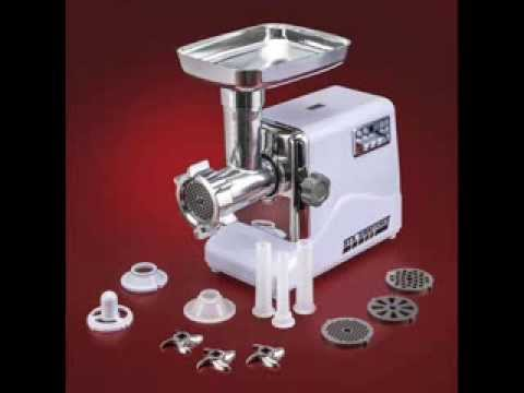 3-Speed Electric Meat Grinder With 3 Cutting Blades, 3 Grinding Plates; Home Meat Grinders