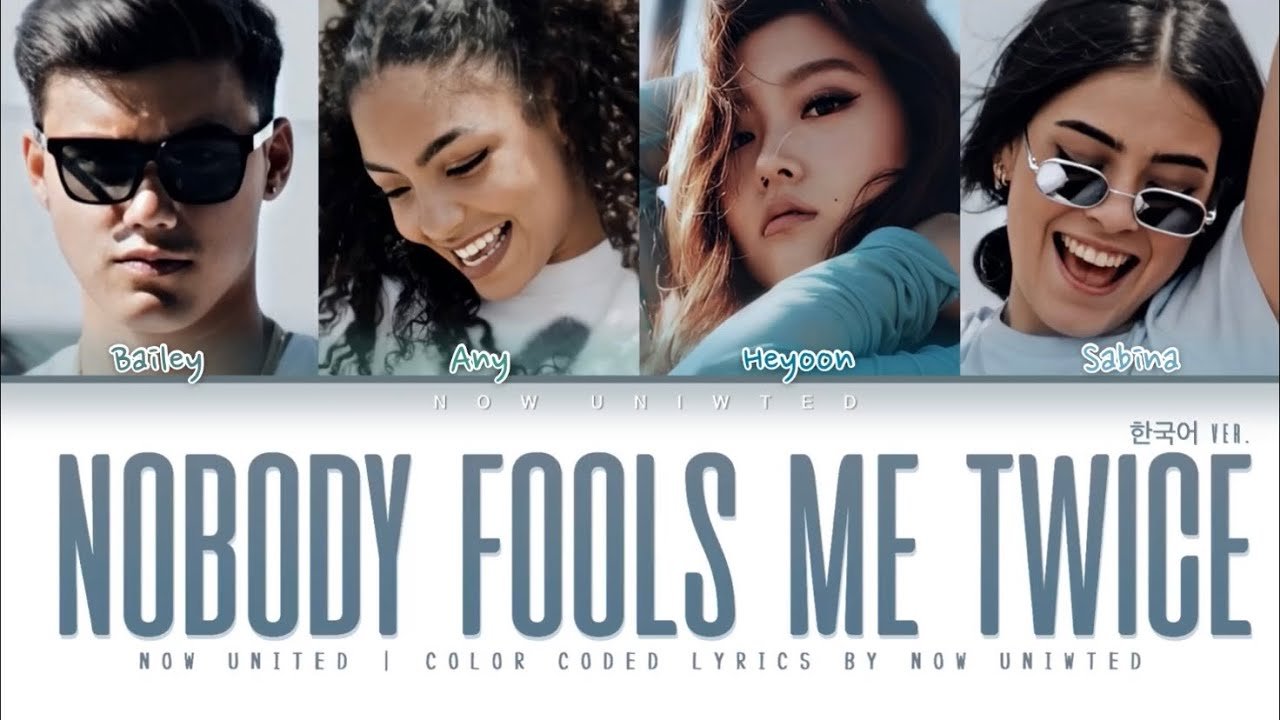 "Now United - ""Nobody Fools Me Twice"" (Korean 한국어 ver.) 