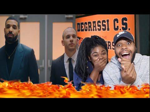 DRAKE BROUGHT BACK DEGRASSI 😱❤️ | Drake - I'm Upset (Official Music Video) | REACTION!!!!