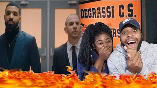DRAKE BROUGHT BACK DEGRASSI 😱❤️ | Drake - I'm Upset (Official Music Video) | REACTION!!!!