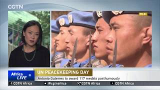 The UN remembers those peacekeepers who died for the sake of peace