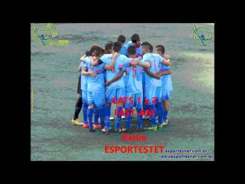 ESPORTESNET - CATS 1 x 2 FAST-AM - Copa São Paulo de Futebol Juniores 2016