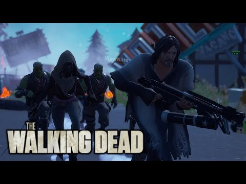 Fortnite Roleplay THE WALKING DEAD! 🧟♀️ #1 (Zombie Apocalypse) (A Fortnite Short Film)