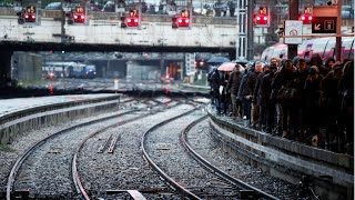 Commute chaos kicks off pivotal week for French pension reform