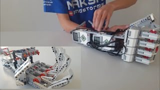 LEGO EV3 Robotic Arm | Cyborg Arm