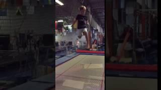 Lucas slow mot trampoline 2016