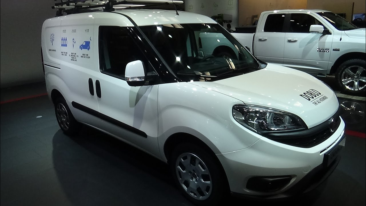 2017 fiat professional doblo the all-rounder - exterior and