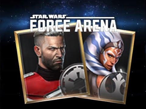 3.1 Update : Ahsoka  Tano & Gar Saxon *New* Leaders + Possible Uniques Star Wars: Force Arena