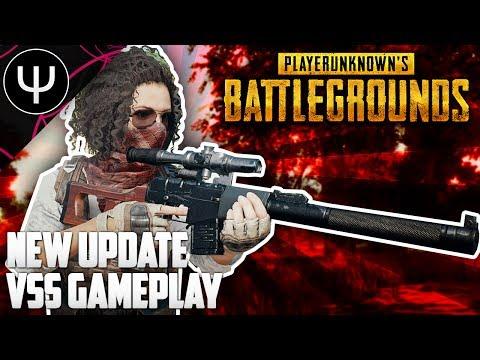PLAYERUNKNOWN'S BATTLEGROUNDS — NEW Update, VSS Vintorez Sniper Rifle and NEW Vehicle!