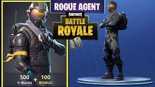ROGUE AGENT SKIN - Fortnite Battle Royale free PVP mode