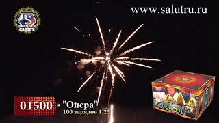 Купить фейерверк на свадьбу «Опера» в Самаре и Тольятти.