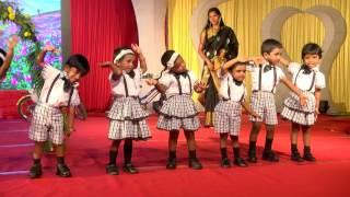 Dance by Toddlers - Esperanza'17   Luxor World International School in Dindigul
