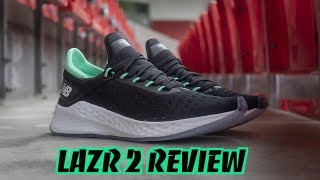 canal Periodo perioperatorio Malversar  New Balance Fresh Foam LAZR 2 REVIEW : THE BEST LIFESTYLE SNEAKER FOR  RUNNERS? - YouTube