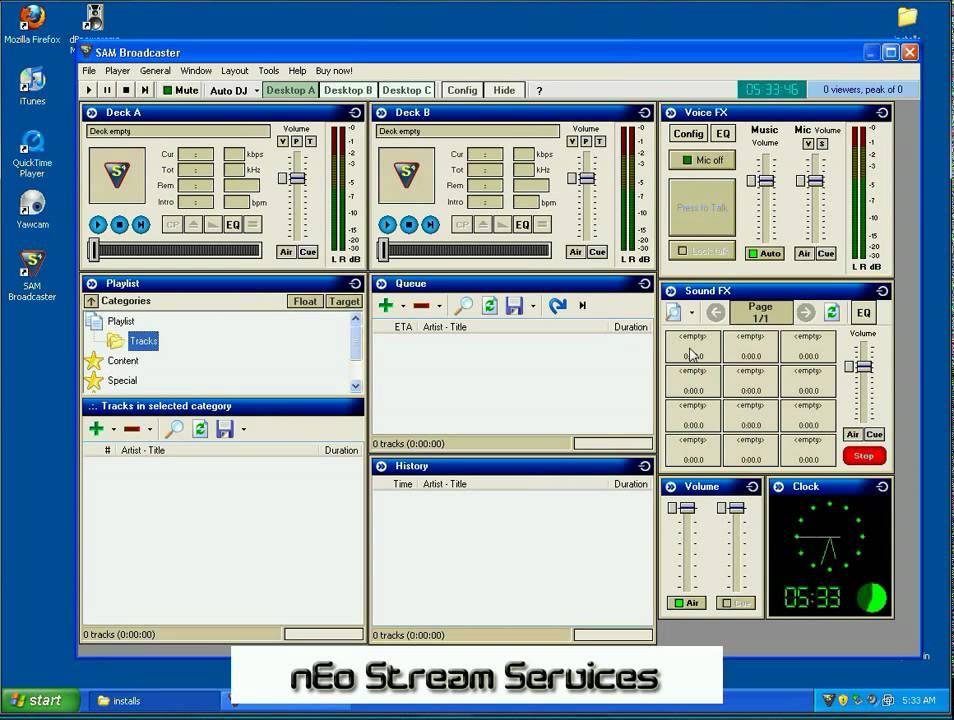 sam broadcaster downloads