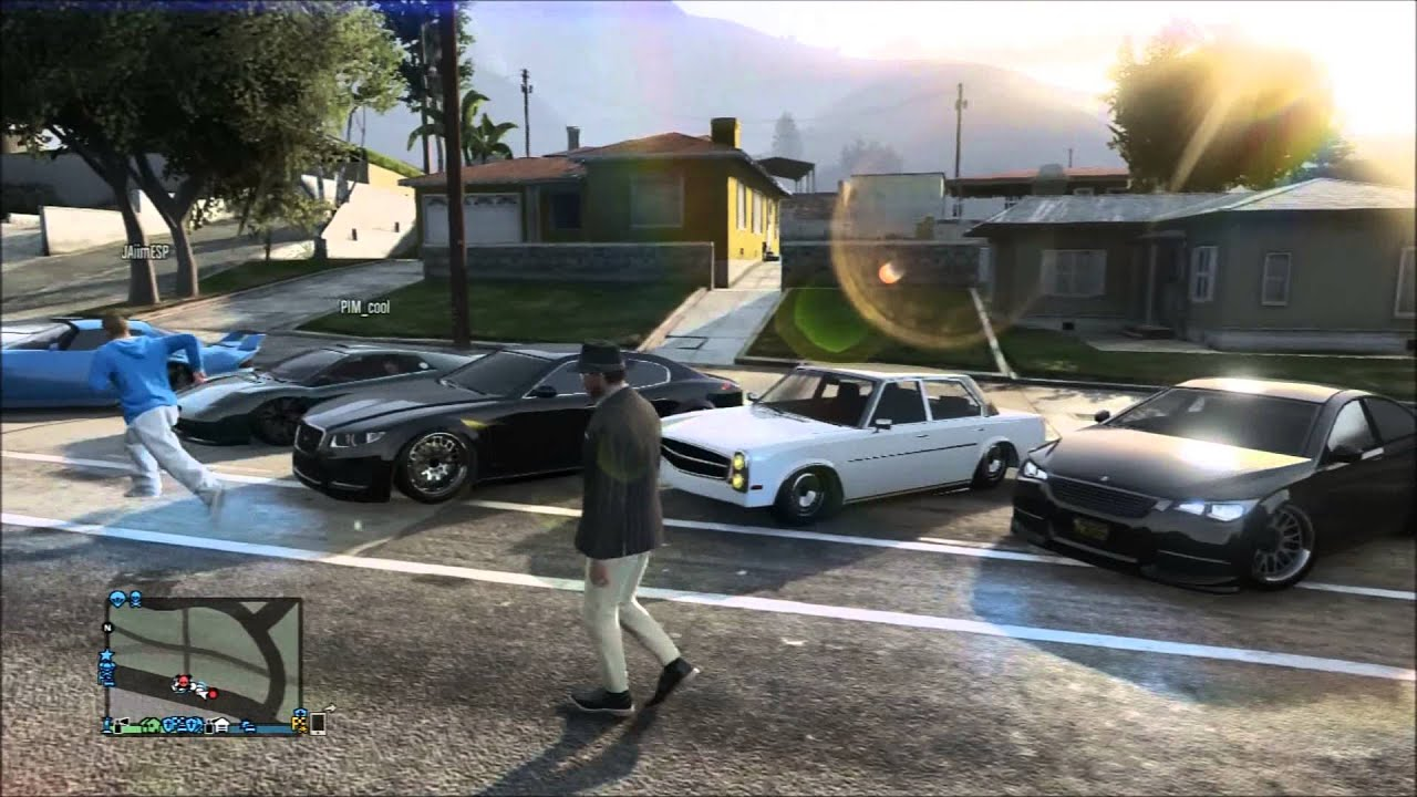 GTA 5 ONLINE | STANCED CAR MEET AND CRUISE [HD] - YouTube