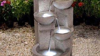 Beautiful Indoor Fountain Design Ideas - Amazing Fountain for Garden