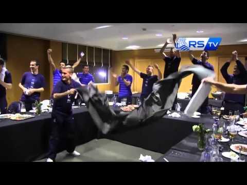 Real Sociedad cuarta, Champions (previa) -