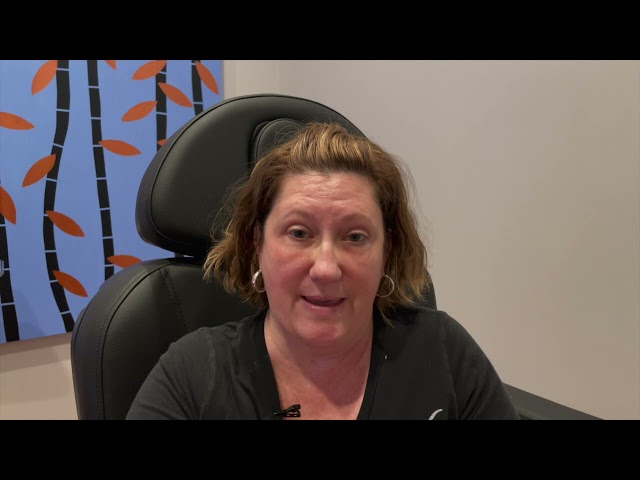 Dallas Lower Blepharoplasty, Fat Transfer, Chin Implant, and Liposuction Testimonial with Photos