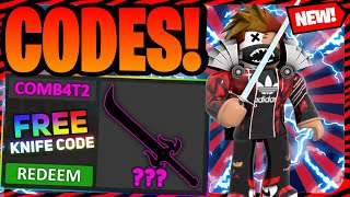 *13 CODES* ALL NEW MURDER MYSTERY 2 CODES JULY 2021 | ROBLOX MM2 CODES 2021