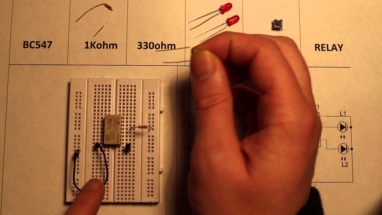 Transistor Operated Relay Switch Circuit Youtube 12v Datasheet