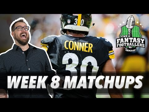 Fantasy Football 2018 - Week 8 Matchups, In-or-Out, Blastoff! - Ep. #637
