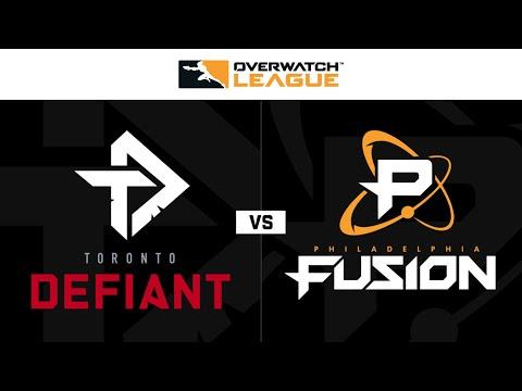 Philadelphia Fusion vs Toronto Defiant vod