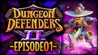Dungeon Defenders 2 [Pre-Alpha] - Ep 1 w/ TheKingNappy, ShadyPenguinn, TheHeatedMo, & VegasJamie!