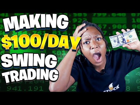Make $100/Day Swing Trading Stocks (#SwingTrading for Beginners)
