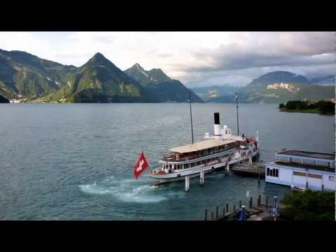 Sunset in Switzerland - 50x Time Lapse - Fuji Finepix X100
