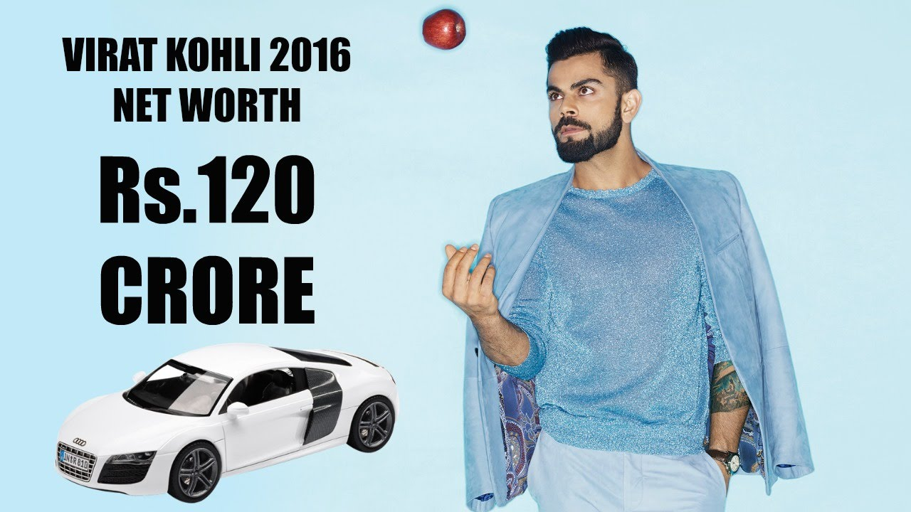 Ms dhoni net worth and earning with cars images a sports news - Virat Kohli Total Net Worth 2016 Rs 120 Crore Youtube