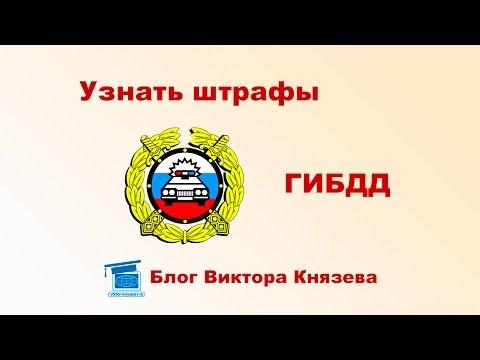 Штрафы ГИБДД онлайн проверить штрафы по номеру