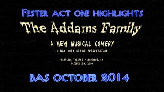 Best of Fester / Act 1 - Scott Slagle - Bay Area Stage - The Addams Family Musical