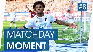 Reiss Nelson shining in the Bundesliga | Goal for Hoffenheim | Bundesliga Highlights