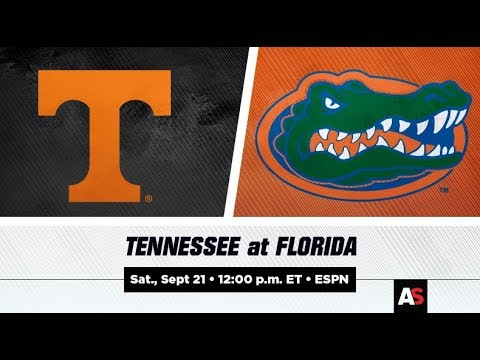Tennessee vs. Florida: Watch SEC Football Online, TV Channel, Time