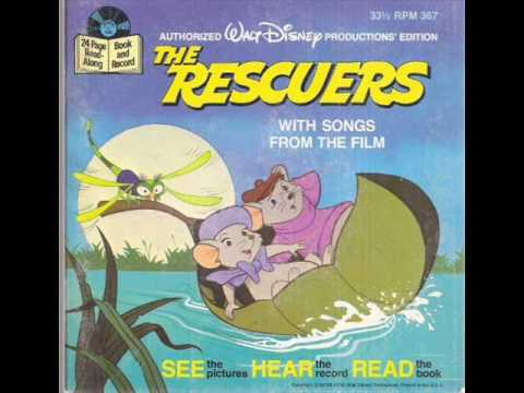 The Rescuers Read Along 33rpm(Full)